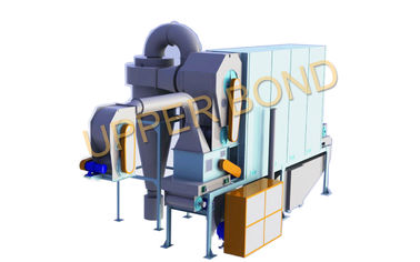 चीन 0.35 - 0.7 MPa Hot Air Fluidized Cut Tobacco Drier Cigarette Production Machine आपूर्तिकर्ता