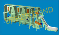 Cigarette Production Tobacco Threshing Machine , Horizontal Type With PLC